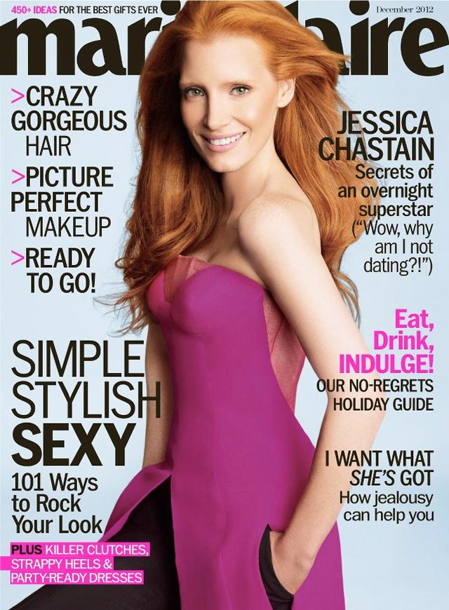 JEssica Chastain Dior