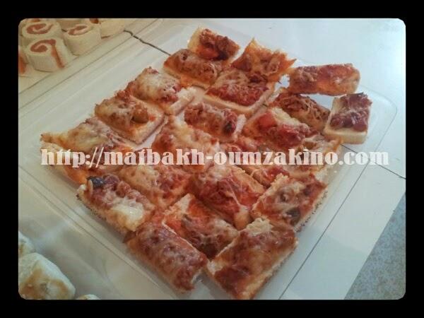 Toast catalane fromage matbakh-oumzakino.com