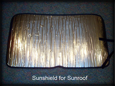 HotFIAT Sunshield for Sunroof