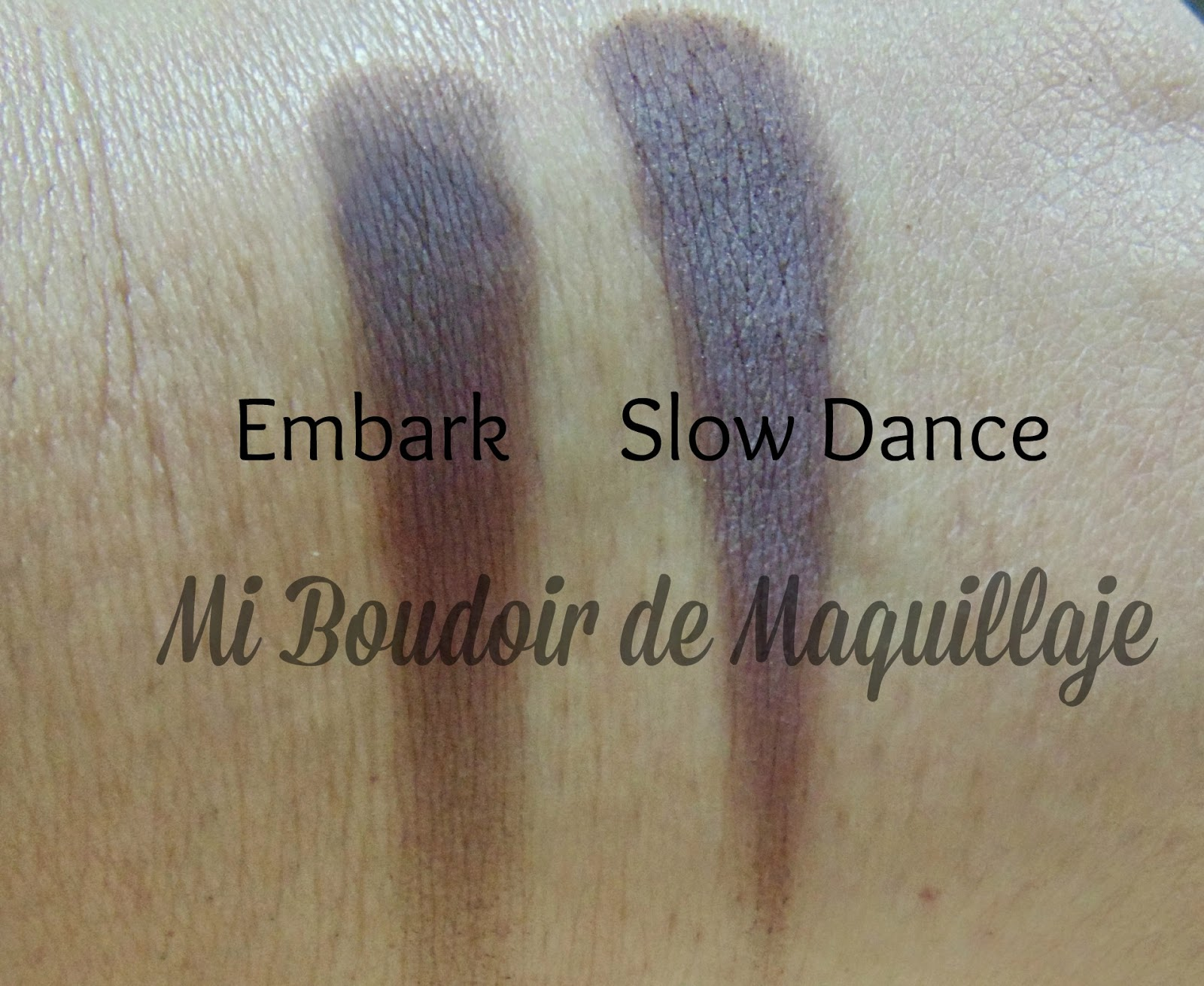 Embark MAC y Slow Dance Zoeva