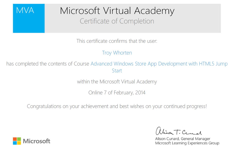 Failed The Turing Test Mva Course Advanced Windows Store App