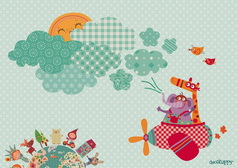 Vinilos infantiles l mina infantil o dibujo gratis for Laminas infantiles para imprimir
