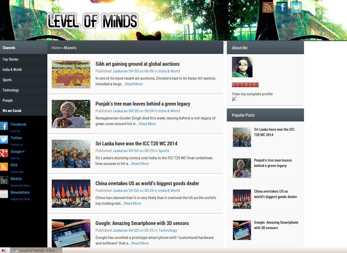 Level Of Minds Blogger Template