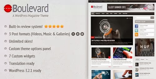 boulevard wordpress theme