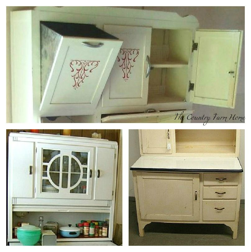 I'll Take a Hoosier Cabinet, Please - The Country Farm Home: I'll Take A Hoosier Cabinet, Please