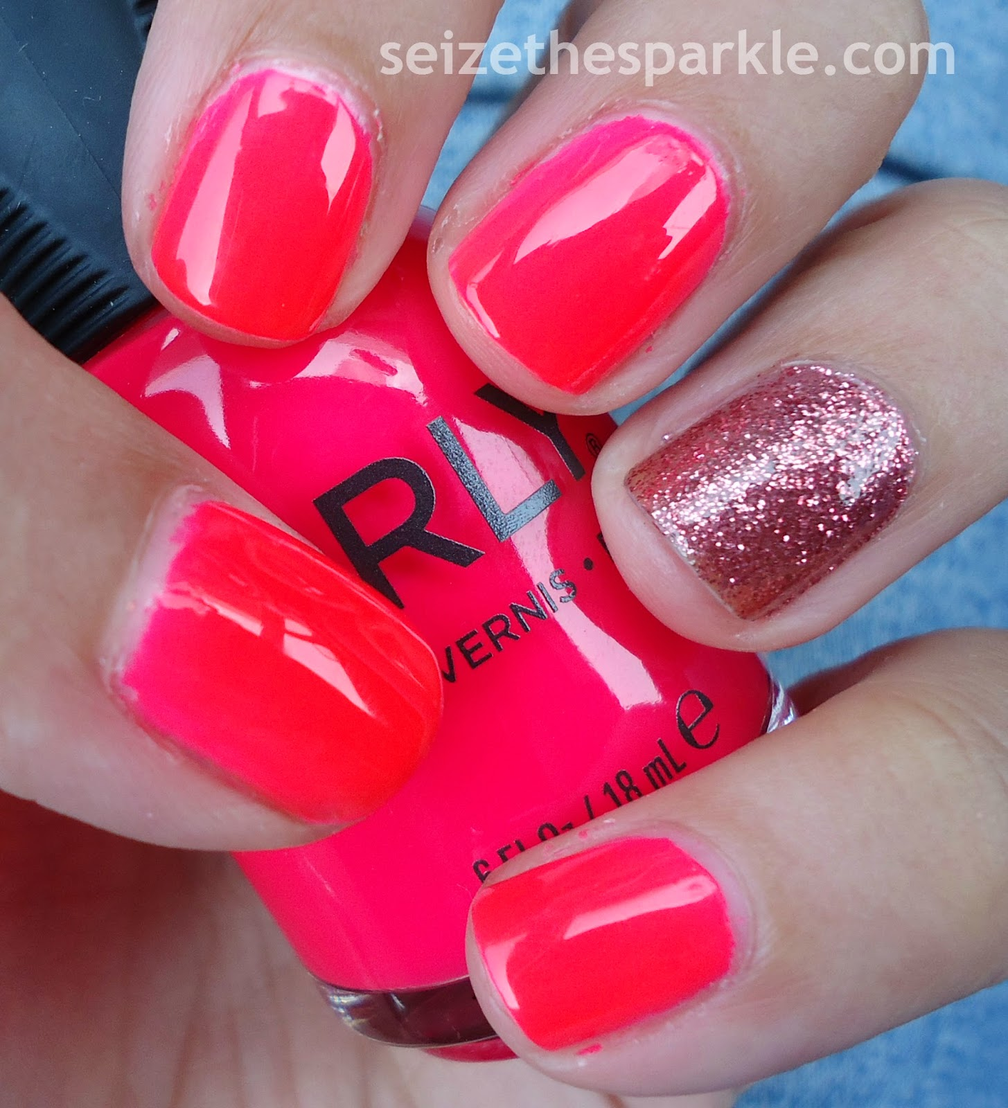 Orly Tropical Punch & Butter London Rosie Lee