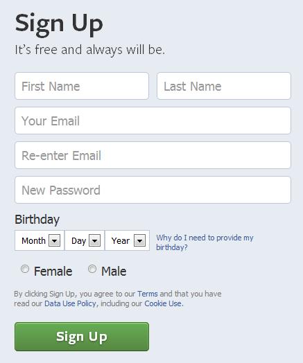 Cara Membuat Facebook Mudah