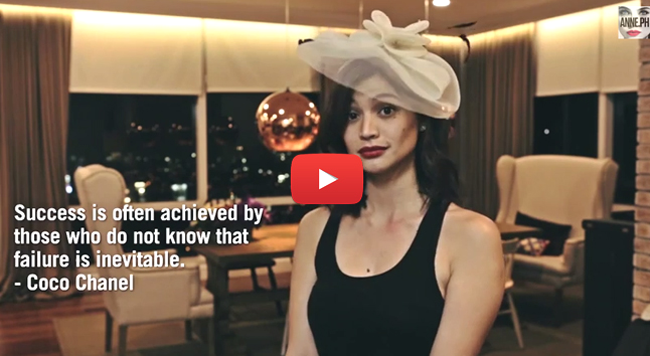 Trending Anne Curtis Recited Her Favorite Inspirational Quotes in Different Accents on Viral Videos