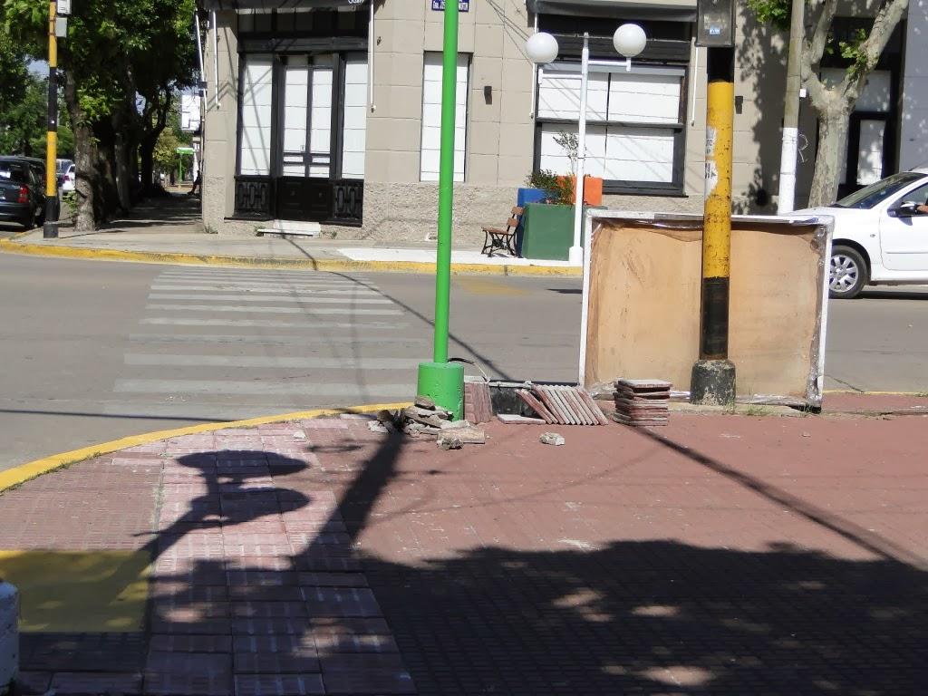 Casares On Line Reparaciones En Veredas De Plaza San Mart N
