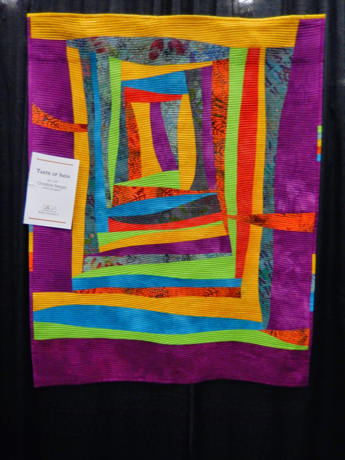 Taste of India by Christine Seager @ Quilting Mod