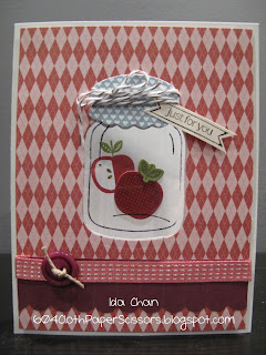 Perfectly Preserved by Ida Chan, Stampin' Up!