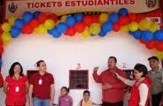 Inauguración del Centro de Venta de Boletos Estudiantil