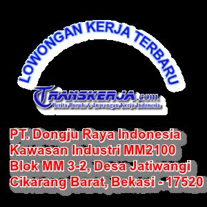 PT. Dongju Raya Indonesia