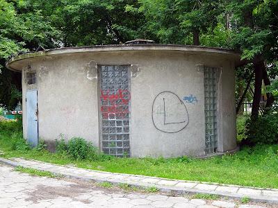 Tajemniczy okrąglak na Olszynce Grochowskiej.