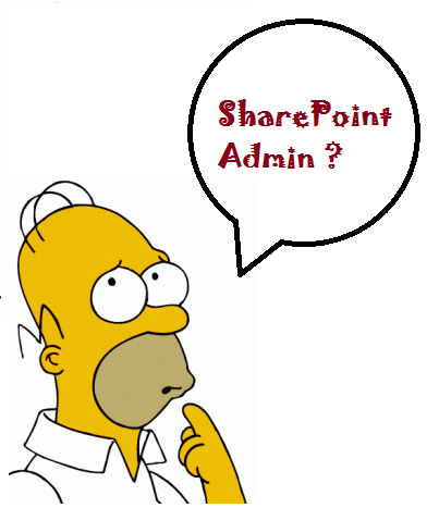 she actually liked sharepoint and wanted to try for getting a job there eventually i mailed her all details about a sharepoint admin so thought of sharing - Sharepoint Administrator Duties
