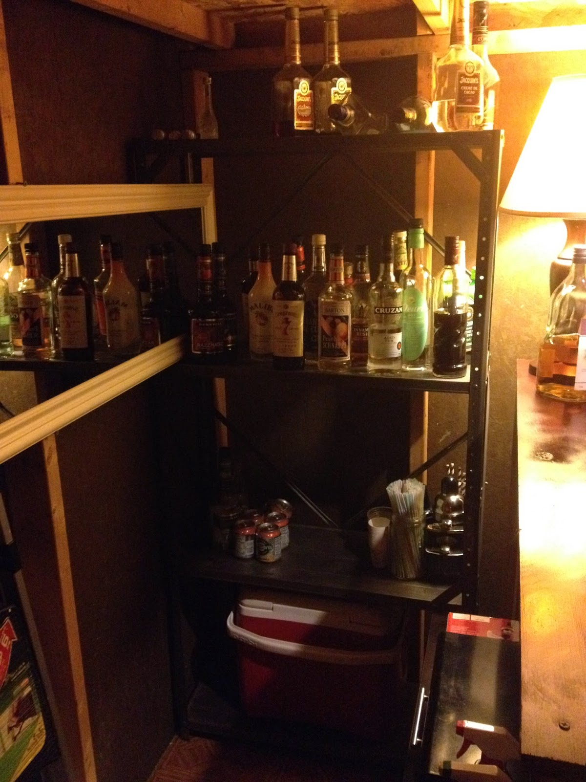 the barshed: shed into bar- booze