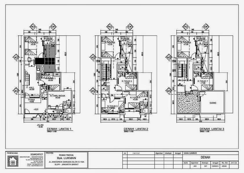 desain ruko minimalis 3 lantai sebagai tempat usaha dan hunian