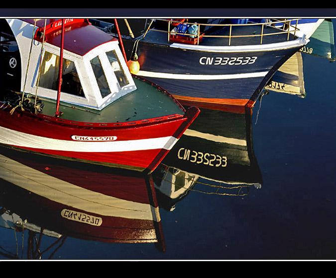 Cotes normandes grandcamp barques de p che chambres d - Chambre d hote port des barques ...