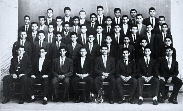 PROMOCION TERCER AÑO DE SECUNDARIA 1962-1963