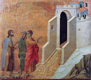 Iconography of the Resurrection – Emmaus – The Journey