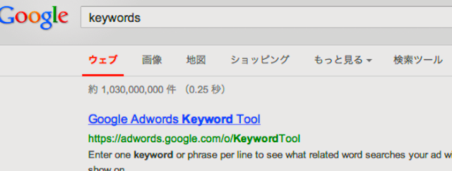 Adwordsキーワードツール画像TOP