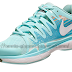 Nike Zoom Vapor 9.5 Tour Glacier Ice/Blue Women's Shoe tennis ...