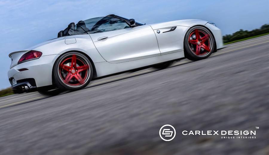 Carlexデザインが「BMW Z4」をベースにした奇抜なカスタム「Z4 Red Carbonic」を公開