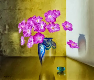 Oleos Pinturas Surrealistas Flores