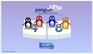 http://www.mathgametime.com/games/penguin-jump-multiplication-game