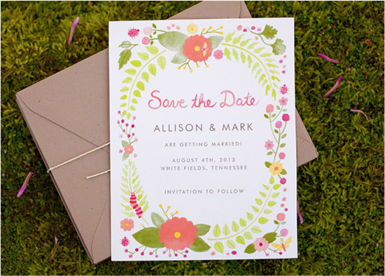 wedding invitation templates fork