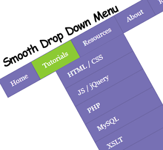 how to add drop down tabs on blogger