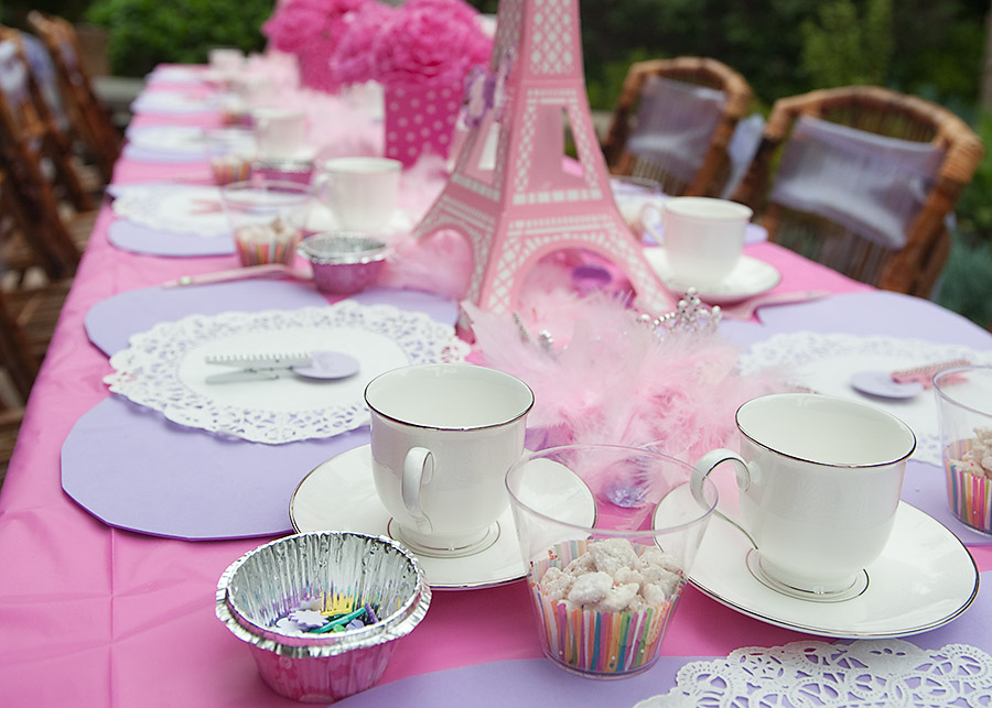 Crystal Tea Room Birthday Party