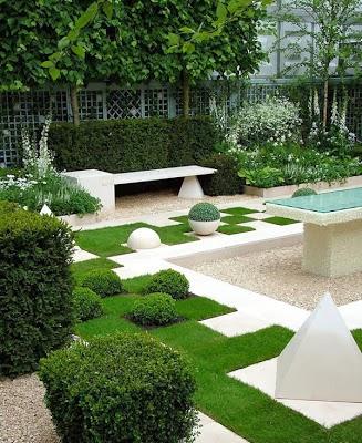 Model Desain Taman Indah Rumah