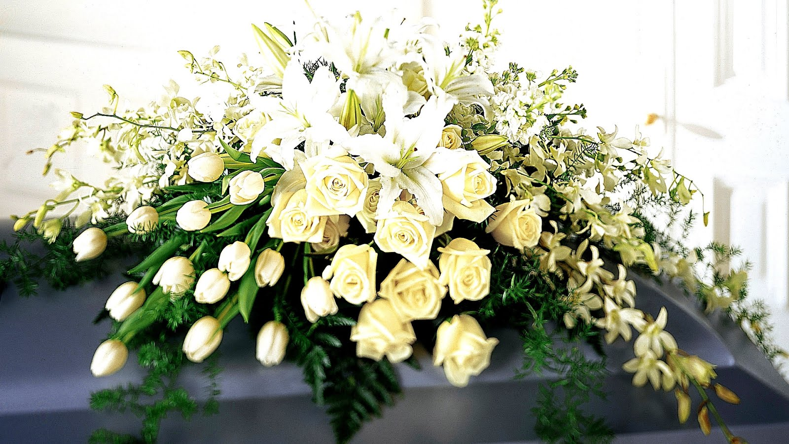 How to send flowers to funeral home izmirmasajfo Choice Image