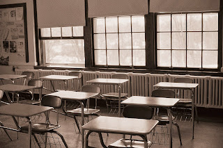 Picture of boring looking classroom