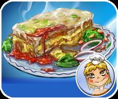 Game học làm mỳ Lasagna tại GameVui.biz
