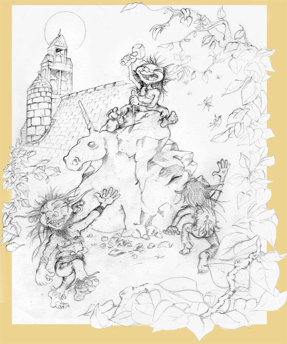 l u0026 39 atelier du goblin   u00b0 dessins et croquis noir et blanc