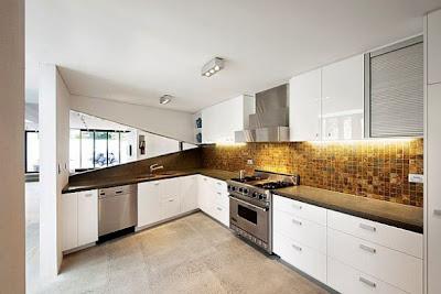 Binh house for Asymmetrical balance in interior design