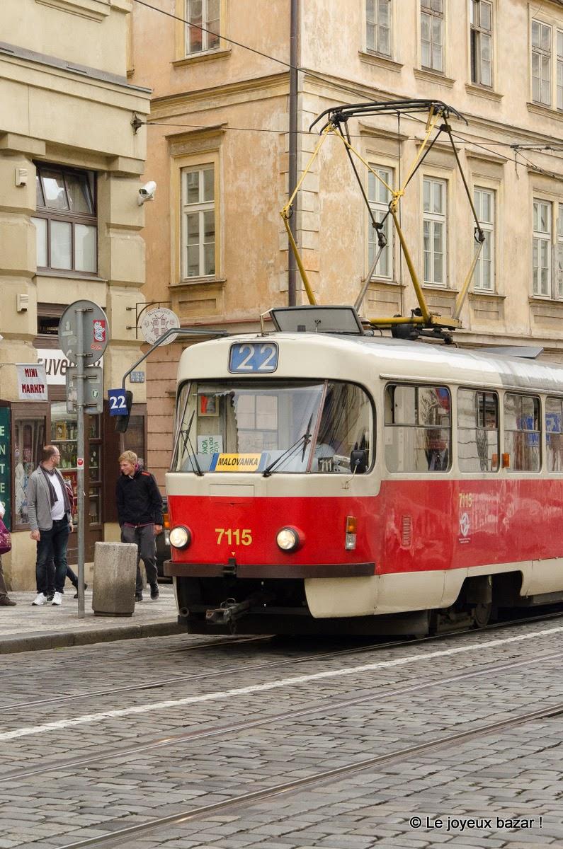 Prague - Mala Strana - tram