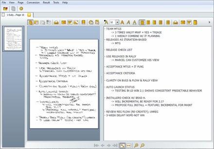 Handwriting Conversion Software