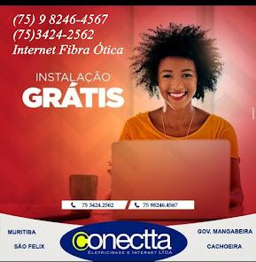 CONECTTA A NOSSA INTERNET , CONTRATE (75) 98246-4567 OU 75-3424-2562