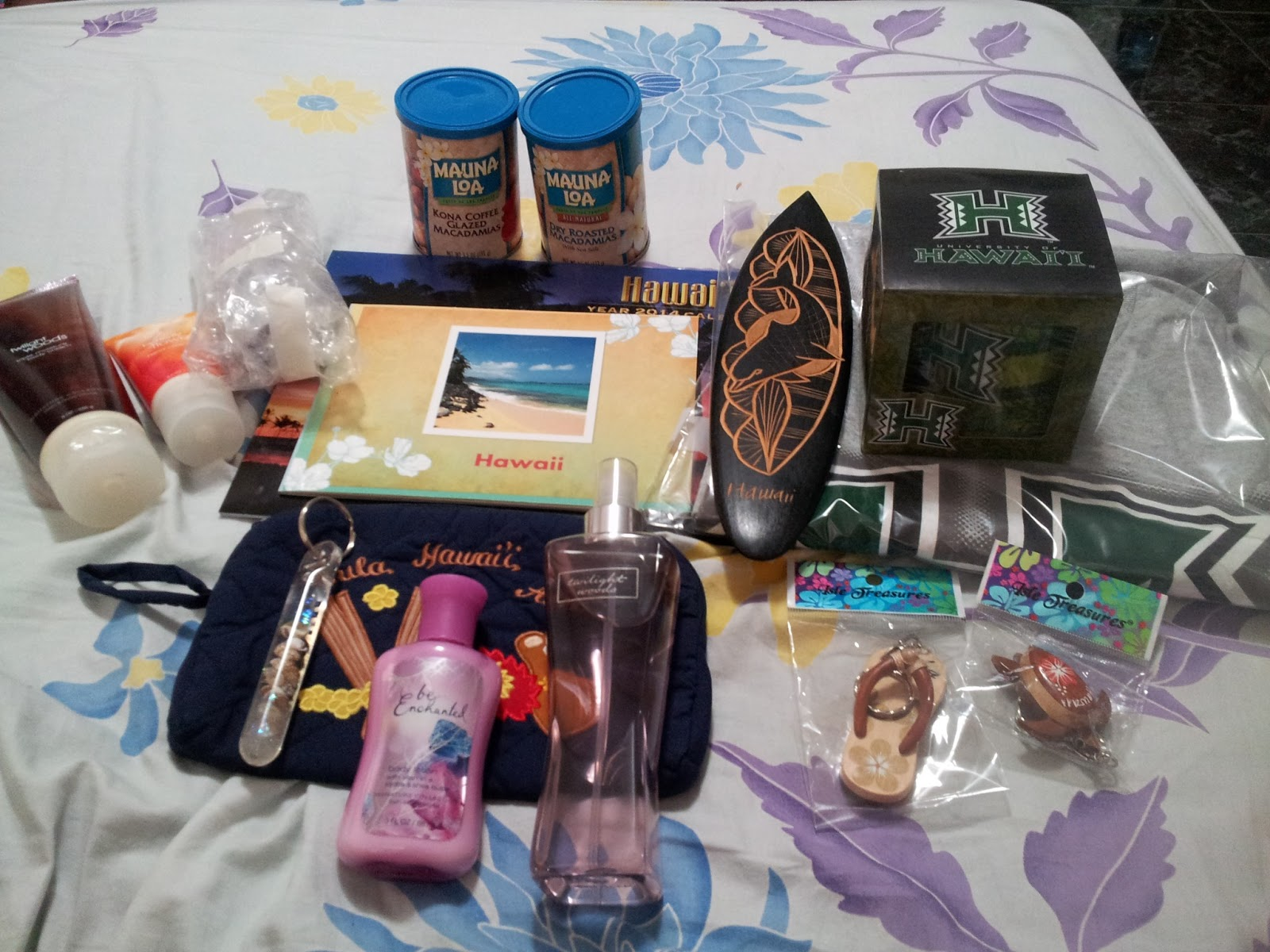 Pacific Wanderings Host Family Gifts