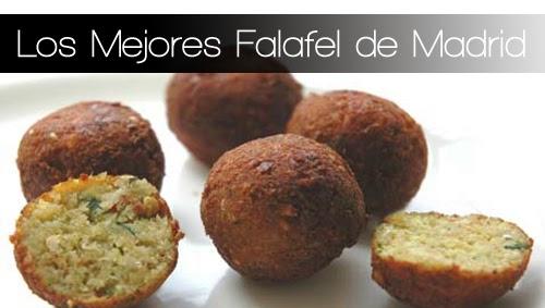 Los Mejores Falafel de Madrid
