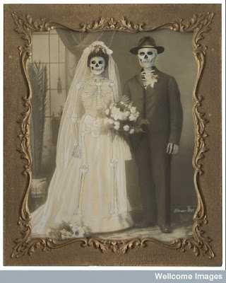 Marcos Raya, Untitled (family portrait: wedding), 2005 Collage: vintage photo with mixed media