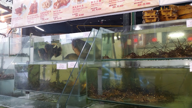 Restaurante de marisco en Kuta