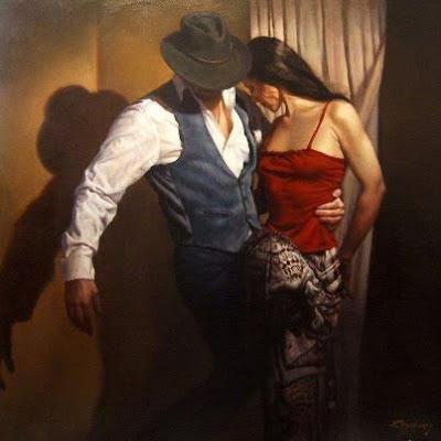 """""""La danza"""" de Hamish Blakely, Mónica López Bordón, poesía, Editorial Playa de Ákaba"""