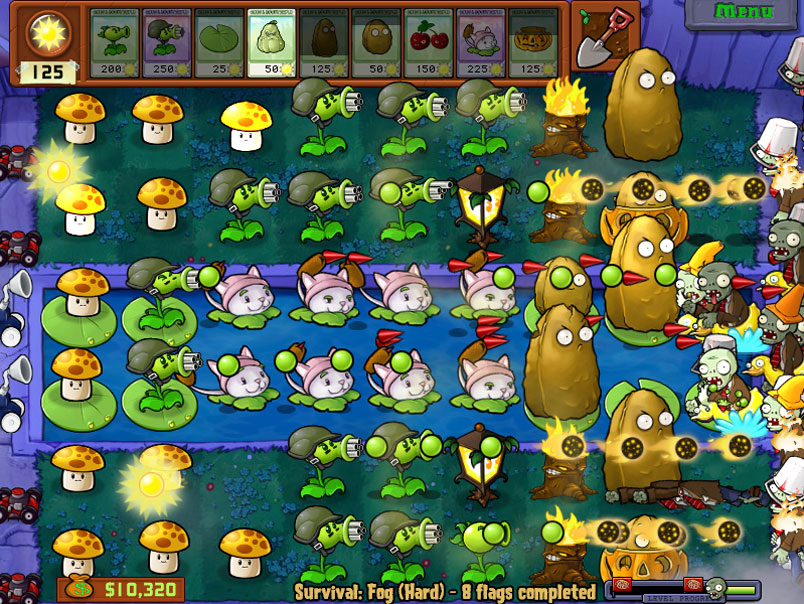 Plant vs zombie hd เกมส์มาแรง