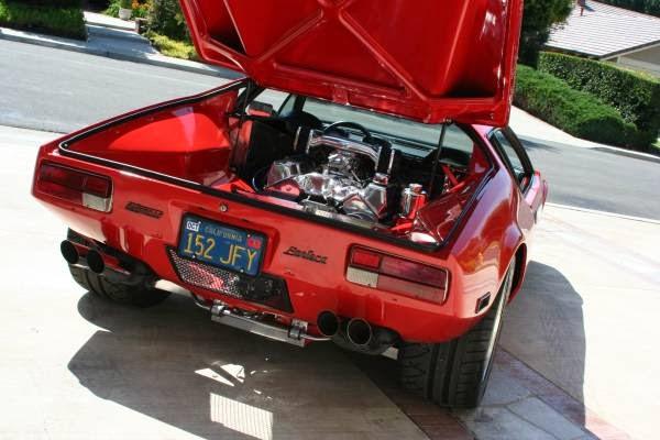 Detomaso Red Pantera Motor