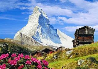 pico de los Alpes situado en el extremo suroccidental de Suiza,