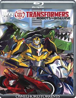 2015: Transformers Robots in Disguise 1ª Temporada Legendado (2015